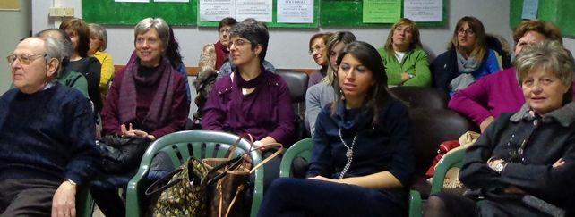 Una parte del pubblico presente all'ultimo incontro