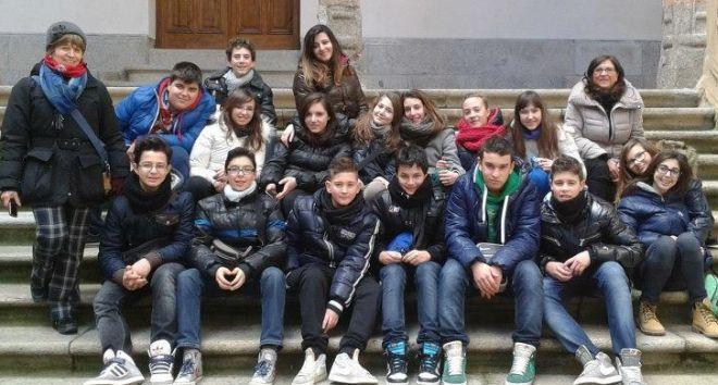 Gli alunni in Spagna