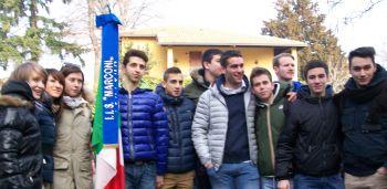 La delegazione dell'Itis Marconi