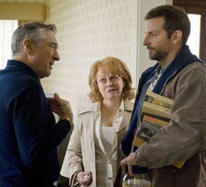 Robert de Niro, Jackie Weaver e Bradley Cooper