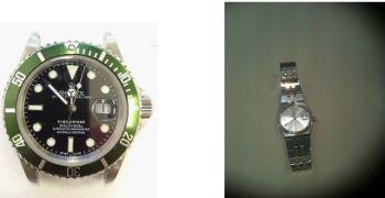 Due orologi rubati e recuoperati