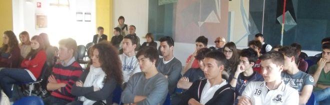 I giovani del Liceo presenti