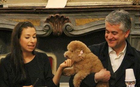 Irene de Vitti con Barosini