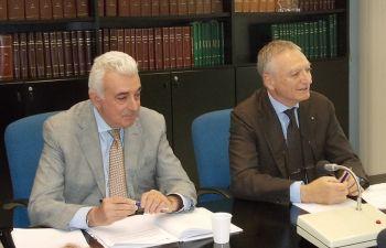 Nella foto da sin: Fabrizio Riva e Marco Giovannini