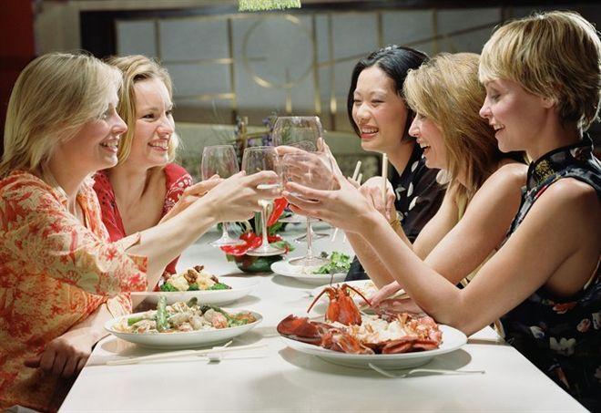 donne a cena - L