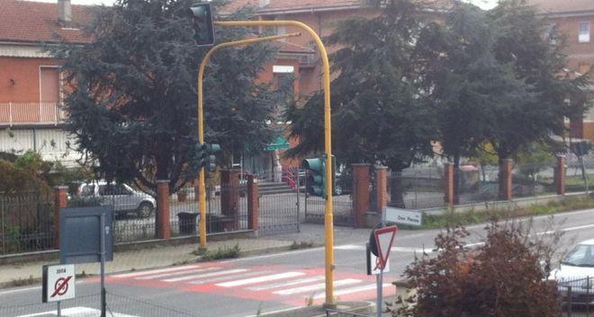 Il semaforo in questione