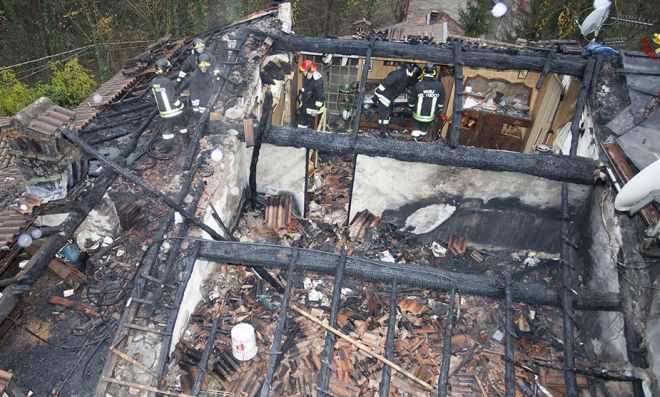 vigili fuoco tetto 3L