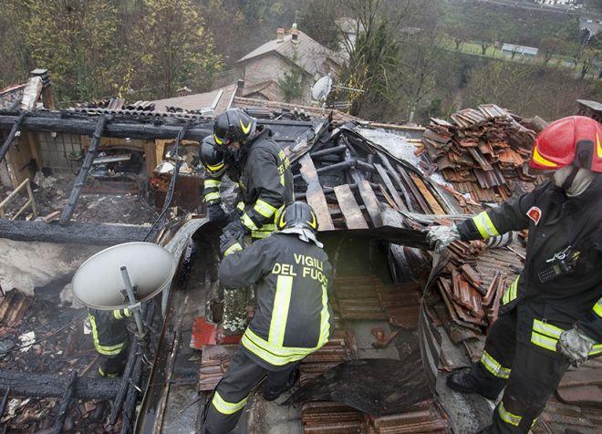 vigili fuoco tetto L
