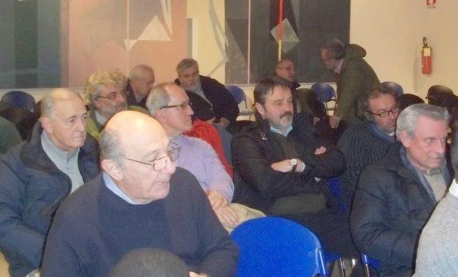 Una parte dei presenti alla riunione