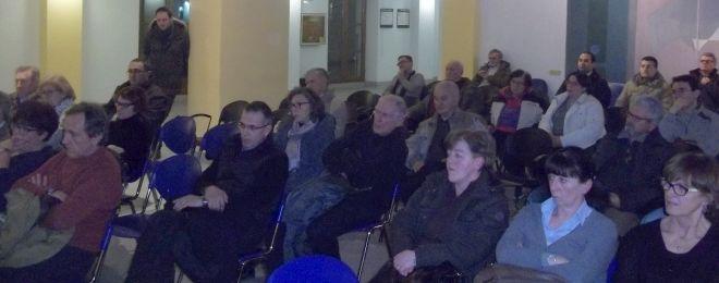 Parte del pubblico presente alla serata
