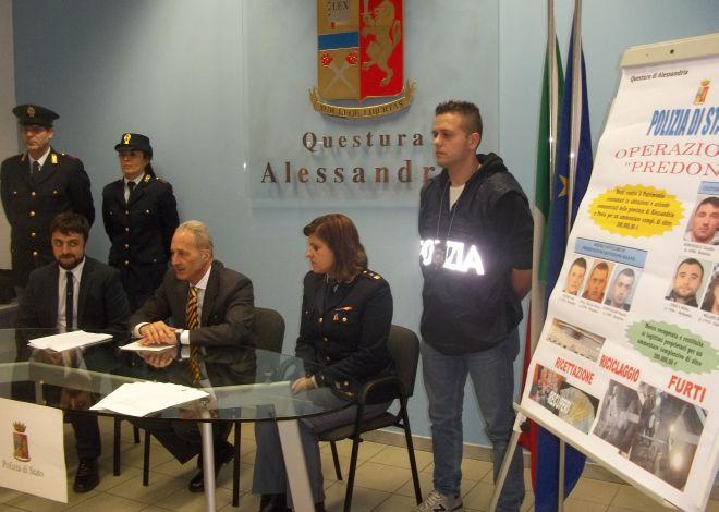 Sgominata la banda che rubava a Tortona, Alessandria e nella zona, in manette 6 rumeni e un italiano