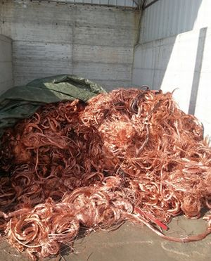 A Novi Ligure la Polfer recupera quasi 8 mila Kg di rame rubato. Un italiano nei guai