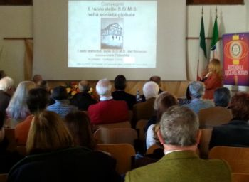 A Francavilla Bisio si è discusso sul ruolo delle Soms grazie al Rotary