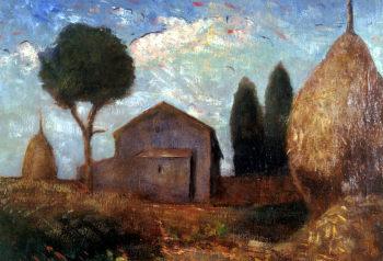 Un quadro esposto di Carlo Carrà