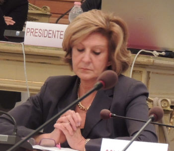 L'assessore al lavoro e alle Attivitrà economiche Marcella Graziano