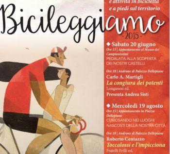 Sabato a Novi Ligure si legge e si va in bicicletta