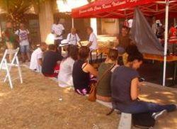 Tortonesi in viaggio a Ventimiglia per portare solidarietà e aiuti ai profughi. Le immagini