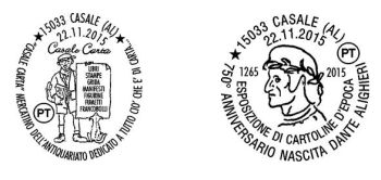 Annullo Filatelico domenica a Casale Monferrato