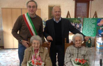 Festeggiate due centenarie a Pontecurone