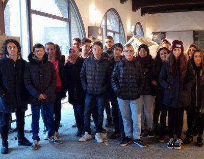 Istituto Marconi: gli studenti alla mostra di Beppe Ravazzi
