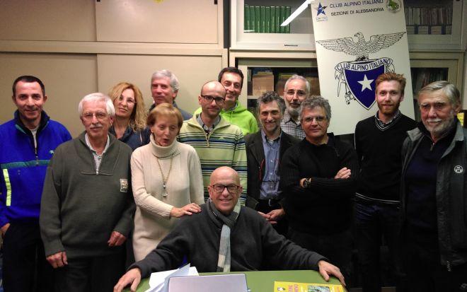 Alessandria rinnova il Direttivo del Club Alpino Italiano e prepara il programma