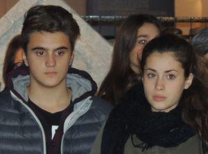Marcello e Silvia Cosola, fratello e sorella studenti del liceo  entrambi protagonisti del calendario