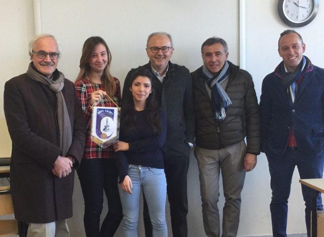 Il Rotary di Novi ha regalato due lavagne multimediali al Liceo Amaldi