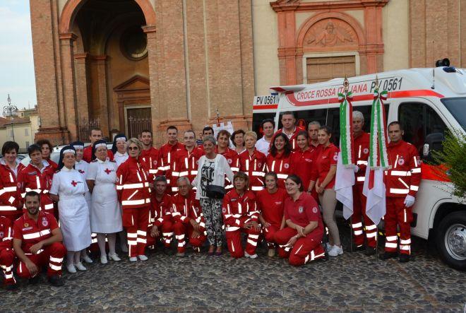 A Voghera inaugurati tre mezzi della Croce Rossa