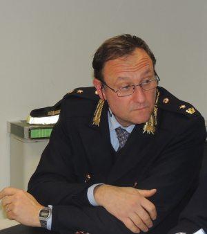 Il Comandante della Polizia Municipale Orazio Di Stefano