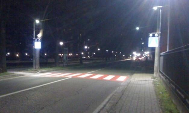 Corse notturne in moto in via Emilia Nord a Tortona alla ricerca di un'emozione