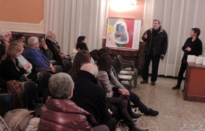 Sale, un successo la serata di Giovanna Franzin e Silvia Massari dedicata all'arte