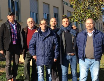 l gruppo Promotore del Comitato. Da Sinistra: Berra, Maj, Deandrea, Amich, Riboldi, Rondano