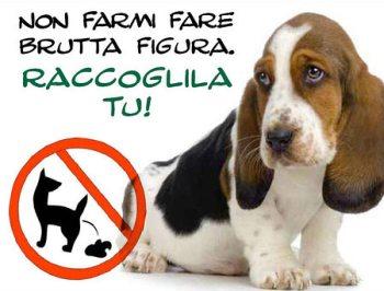 Deiezioni lasciate dai padroni dei cani davanti ad un condominio a Tortona, una lettrice protesta