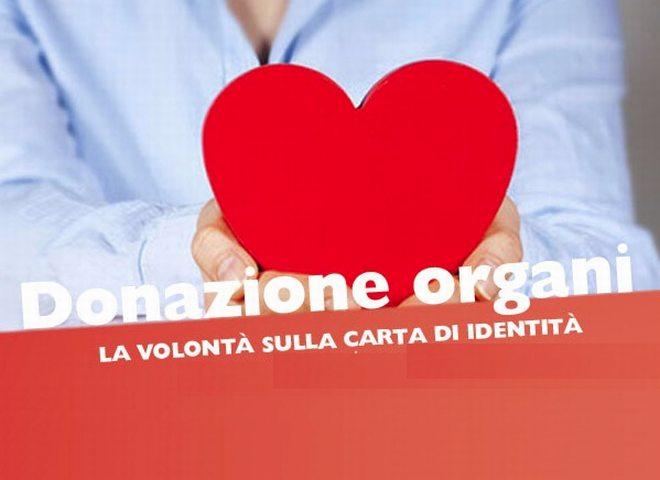 Donazione organi, da lunedì a Novi la scelta si può fare in Comune
