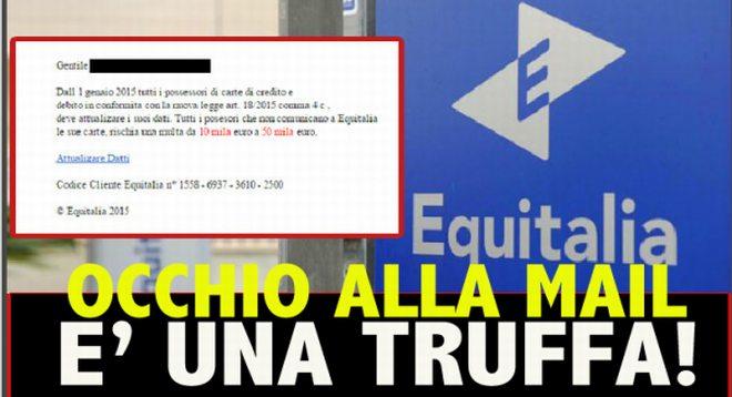L'Unione Consumatori: attenzione alle finte email di Equitalia