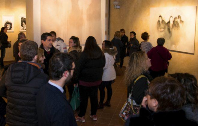 Inaugurata a Tortona la mostra di Elisa Muliere