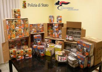 Un napoletano arrestato con 130 Kg di botti illegali in auto destinati ad Alessandria