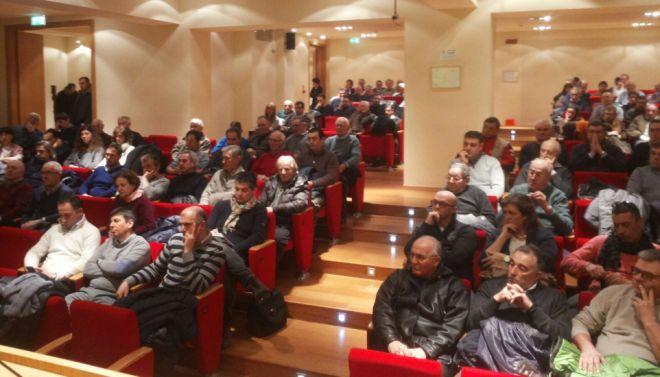 Gli agricoltori tortonesi alla Sala della Fondazione hanno discusso dei loro problemi
