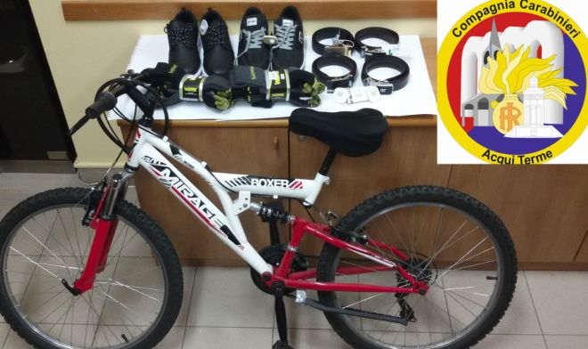 I carabinieri di Acqui arrestano due marocchini per furto di una bicicletta