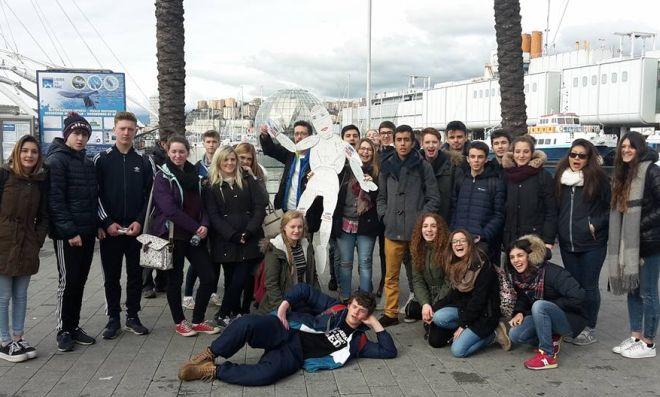 Studenti inglesi a Tortona per uno scambio col Marconi
