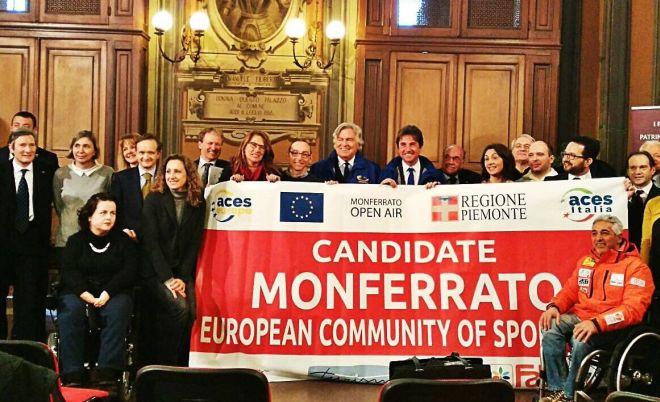 """Il Monferrato si candida al titolo di """"European community of sport 2017"""""""
