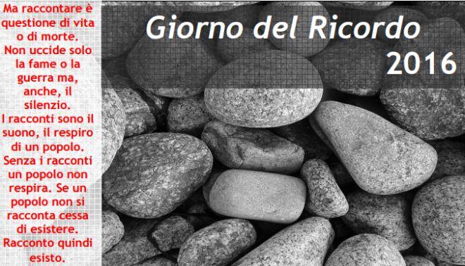 """Domani e mercoledì prossimo Tortona celebra il """"Giorno del Ricordo"""""""