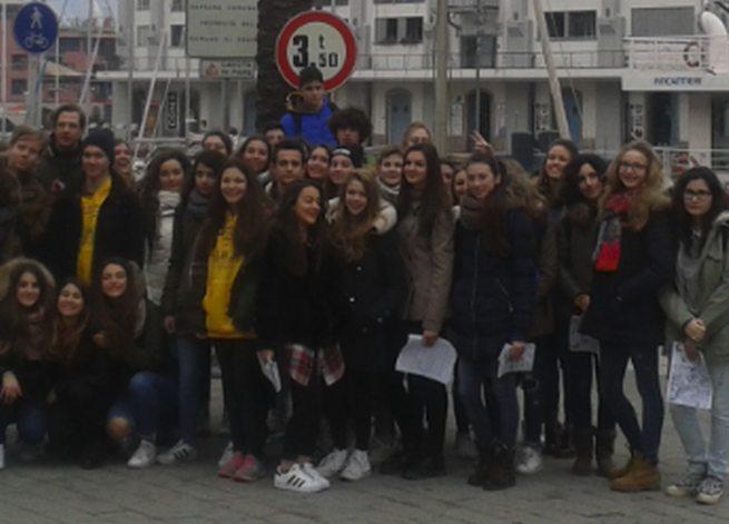 Studenti ungheresi una settimana all'Amaldi di Novi
