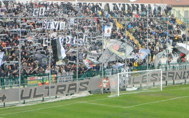 Otto tifosi colpiti dal Daspo dopo la partita Alessandria – Padova