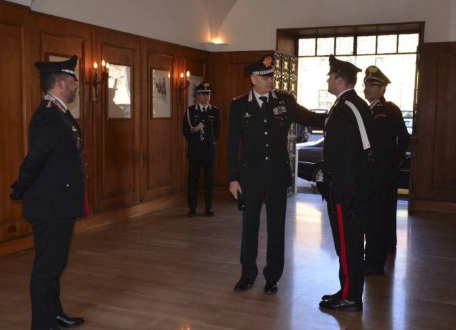 Il Comandante regionale dei Carabinieri in visita a Tortona e Alessandria