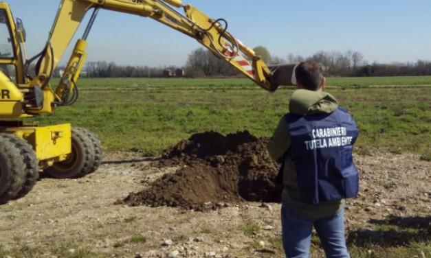 Deposito incontrollato di rifiuti metallici i carabinieri del Noe deferiscono  una ditta di scavi e movimento terra