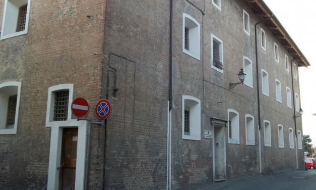 """Ecco come potrebbe diventare l'edificio delle ex carceri di Tortona se la Regione finanzierà il progetto """"Prigionieri del gusto"""""""