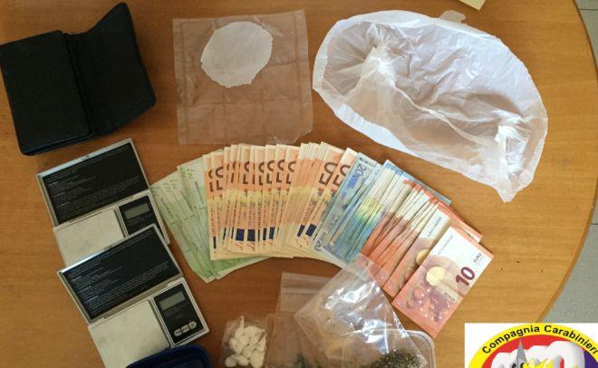 Arrestato un pensionatio di 73 anni di Tagliolo che spacciava cocaina