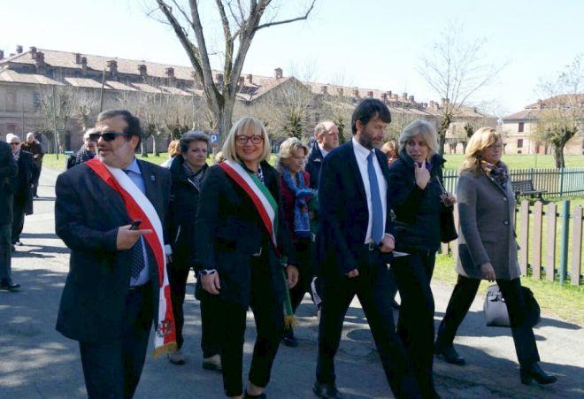 Il Ministro Franceschini ha visitato la Cittadella di Alessandria