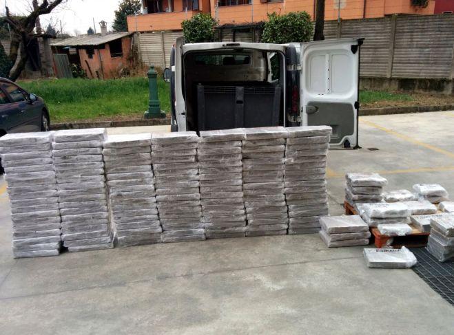 Arrestato trafficante internazionale di droga seguito da Pavia, aveva 1.200 kg di hashish